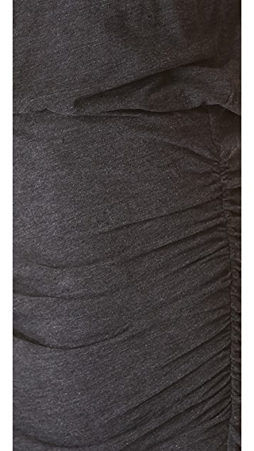 James Perse High Twist Shell Dress