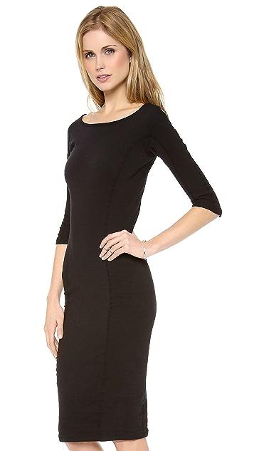 James Perse Side Pannel Skinny Dress