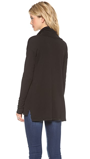 James Perse Oversize Cowl Neck Tunic