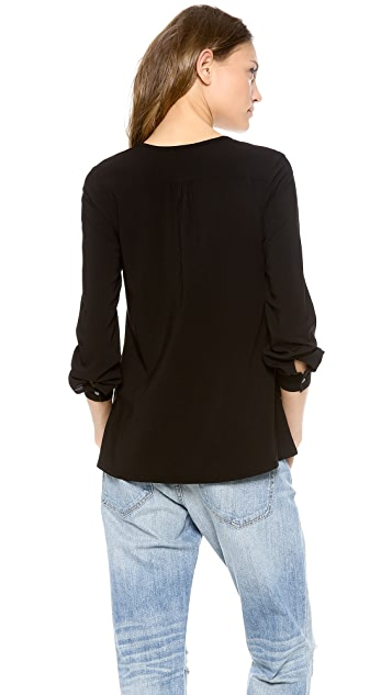 James Perse Artist Blouse