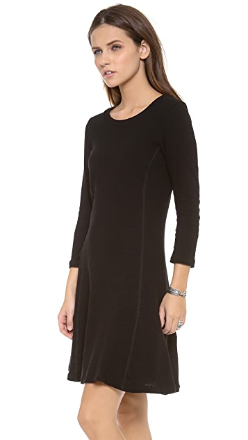 James Perse Recycled Crepe Jersey Dress
