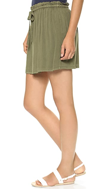 James Perse Paper Bag Skirt