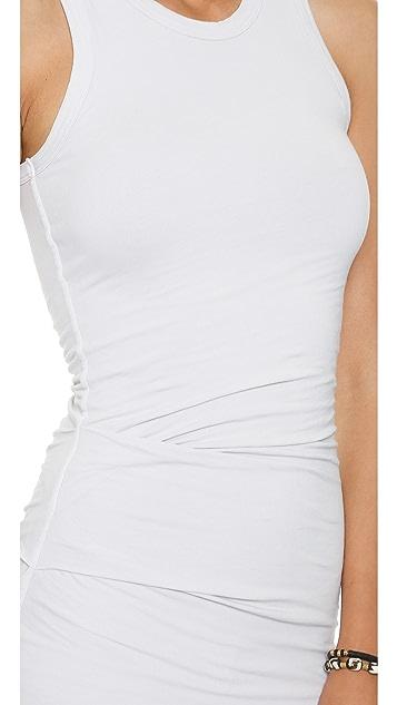 James Perse Skinny Tucked Tank Dress