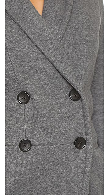 James Perse Fleece Overcoat