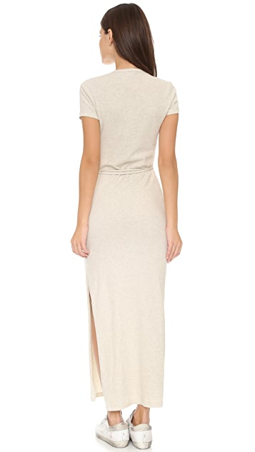 James Perse Pocket Tee Maxi Dress