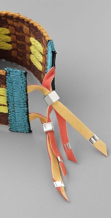 Julie Rofman Vintage Ribbon Bracelet