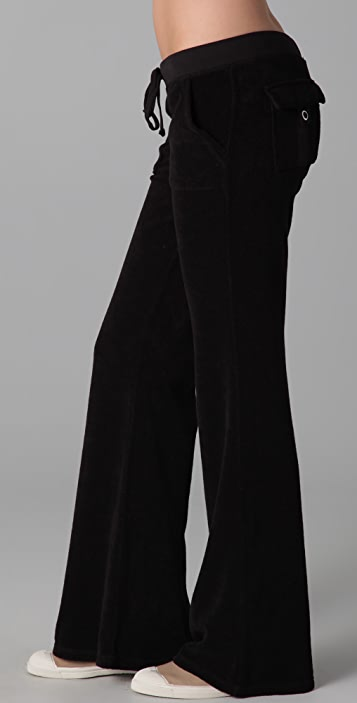 Juicy Couture Terry Snap Pocket Pants