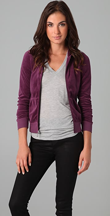 d4356b10b Juicy Couture Velour Hoodie | SHOPBOP