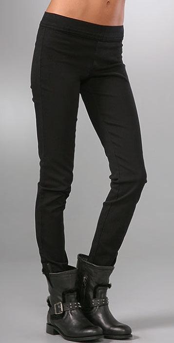 Juicy Couture Denim Leggings with Zipper
