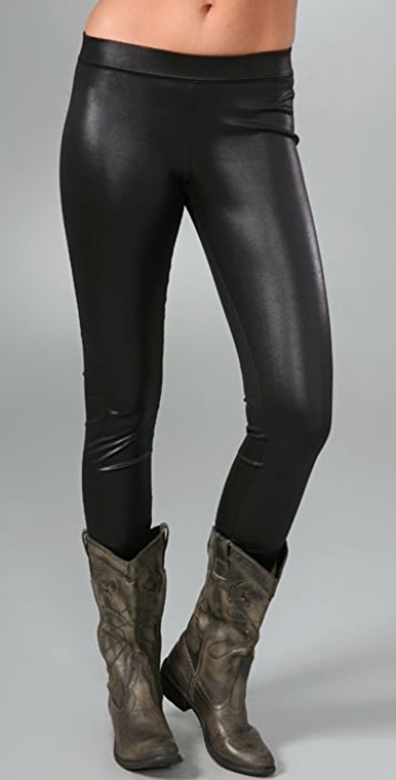 Juicy Couture Faux Leather Leggings
