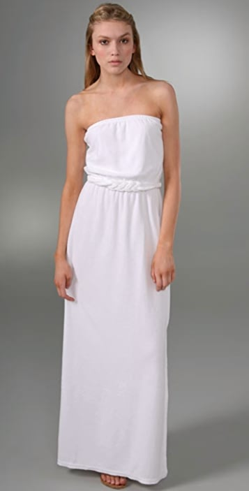 d0938d72ab Juicy Couture Terry Strapless Long Dress
