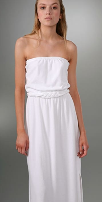 6f7da2bd63 ... Juicy Couture Terry Strapless Long Dress ...