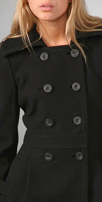 Juicy Couture Goth Couture Double Breasted Coat