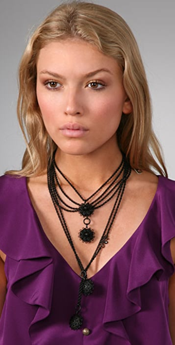 Juicy Couture Chain Swag Drama Necklace
