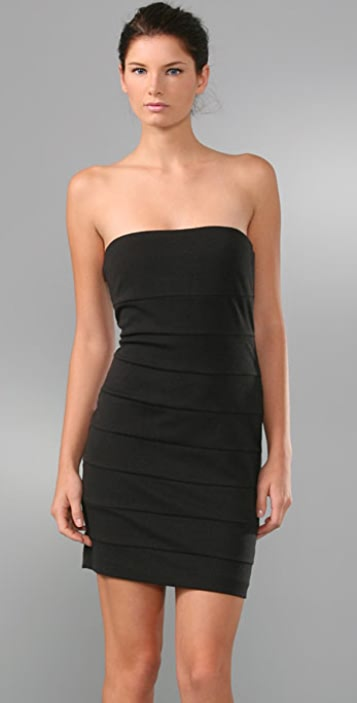 Juicy Couture Strapless Zip Back Dress