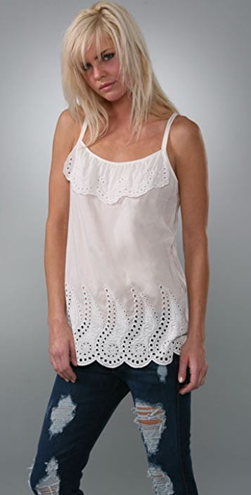 Juicy Couture Victorian Lace Date Top