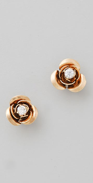 Juicy Couture Rose Stud Earrings