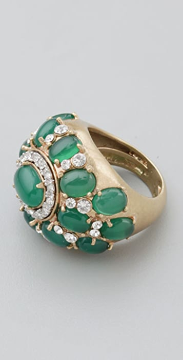 Juicy Couture Green Multi Stone Ring
