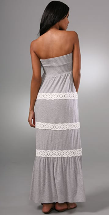 Juicy Couture Long Dress with Crochet