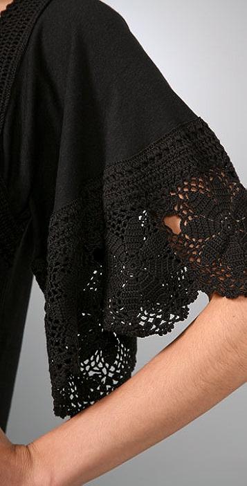 Juicy Couture Crochet Knit Dress