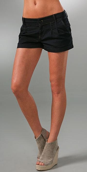 Juicy Couture Denim Trouser Short Shorts