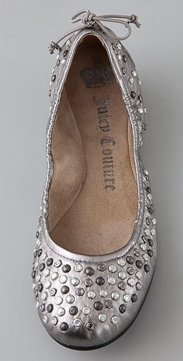 Juicy Couture Racine Stud Ballet Flats