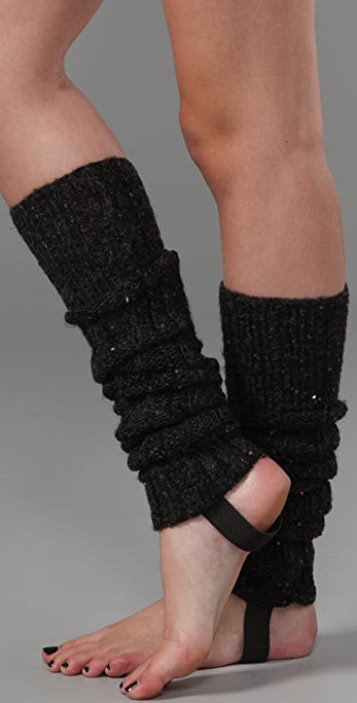 Juicy Couture Sequin Leg Warmers
