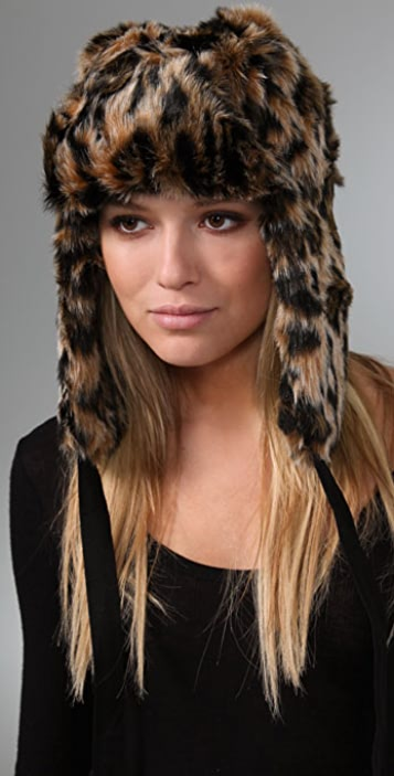 Juicy Couture Faux Fur Trapper Hat