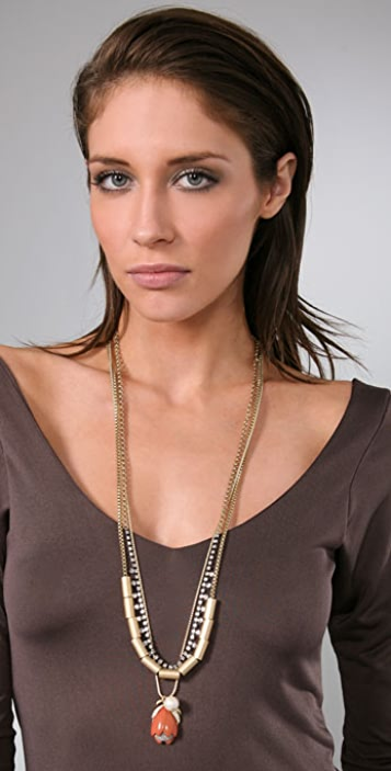 Juicy Couture Tulip Drop Necklace