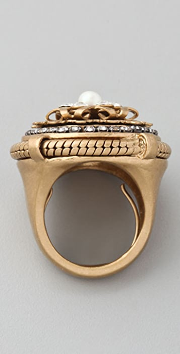 Juicy Couture Snake Chain Cocktail Ring