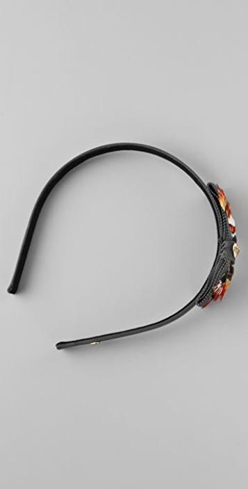 Juicy Couture Baroque Feather Headband
