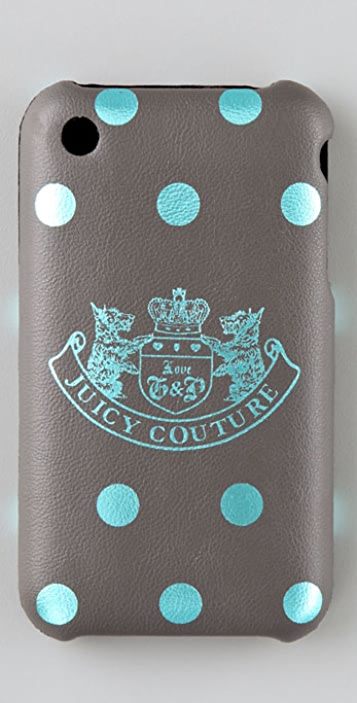 Juicy Couture Polka Dot iPhone Case