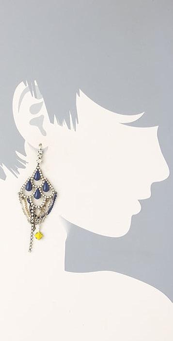 Juicy Couture Teardrop Chandelier Earrings