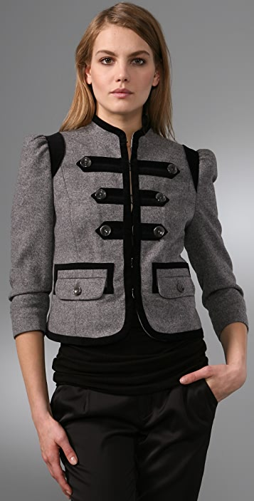 Juicy Couture Troupe Wool Jacket