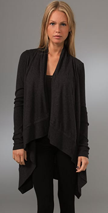 Juicy Couture Gauze French Terry Cardigan