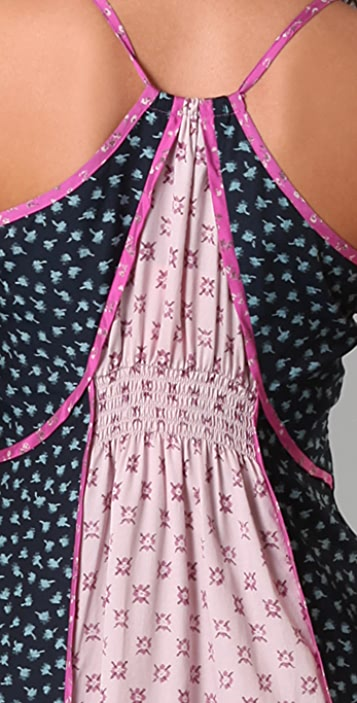 Juicy Couture Ditzy Garden Patchwork Maxi Dress