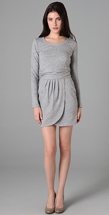 dd7398cdd097 Juicy Couture Long Sleeve French Terry Dress