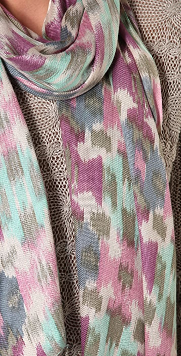 Juicy Couture Ikat Scarf