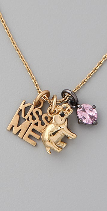 Juicy Couture Elephant Love Luck & Couture Necklace