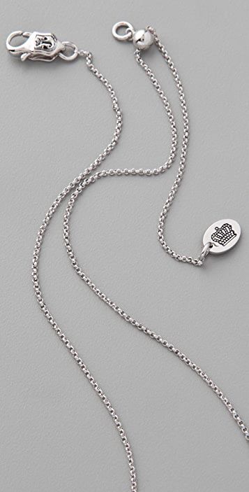 Juicy Couture Truth Dare Spinner Necklace