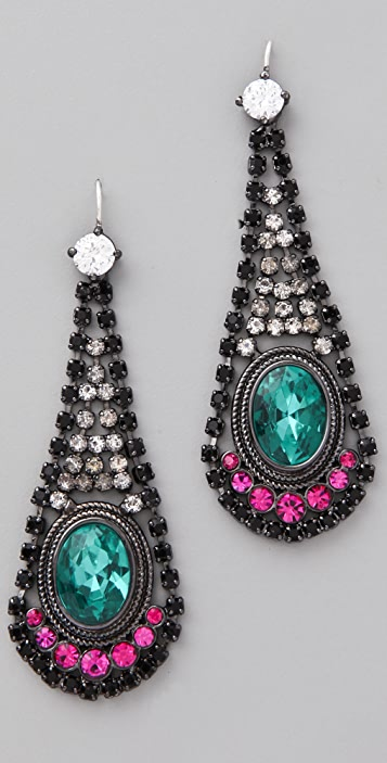 Juicy Couture Teardrop Earrings
