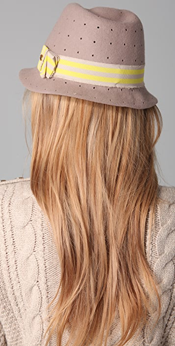Juicy Couture Perforated Fedora