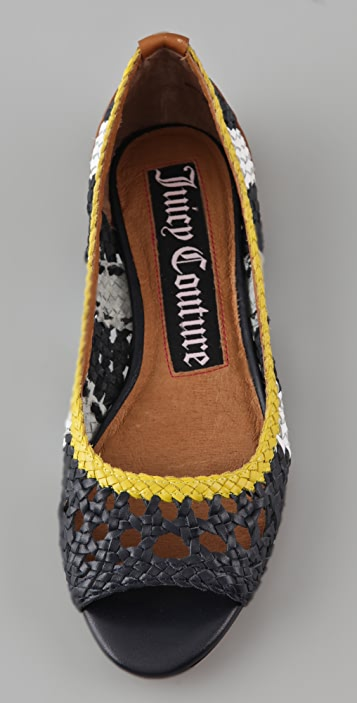 Juicy Couture Prima Woven Flats