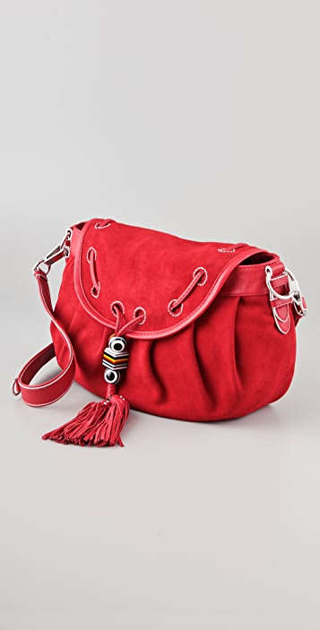 Juicy Couture Ann Swing It Suede Bag
