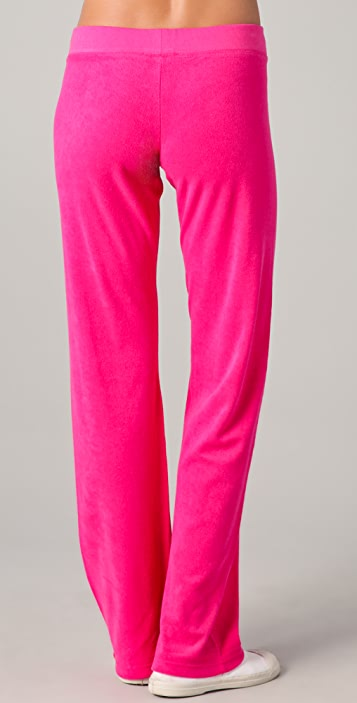 Juicy Couture Original Leg Drawstring Pants