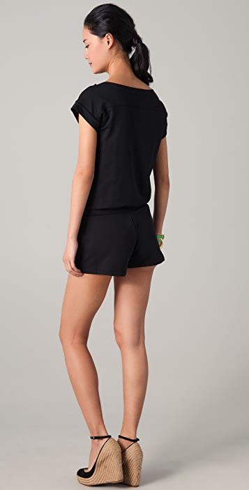 Juicy Couture Tricot French Terry Romper