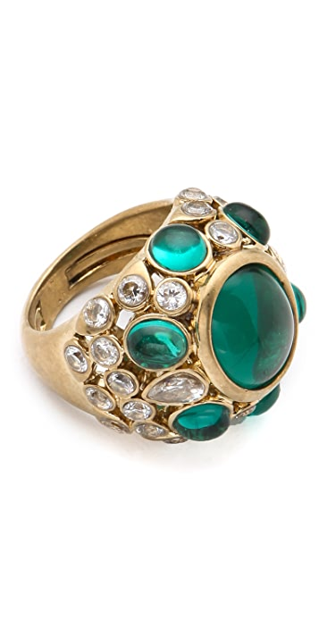 Juicy Couture Jeweled Cocktail Ring