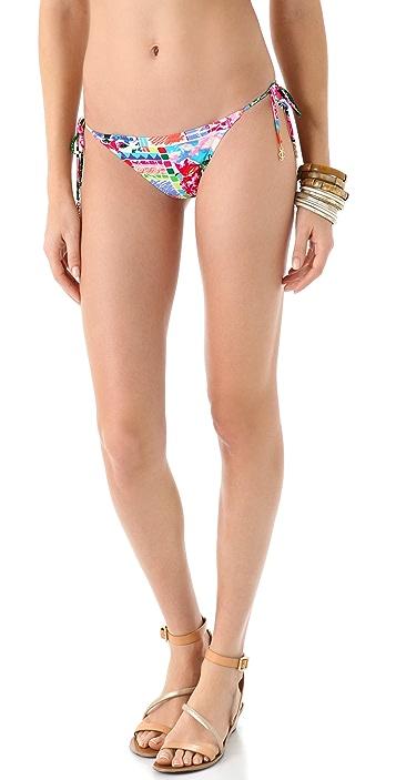 Juicy Couture Destination Flirt String Bikini Bottoms