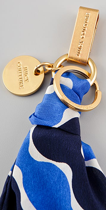 Juicy Couture Scarf Tie Key Fob