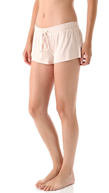 Juicy Couture Drawstring Jersey Shorts